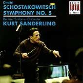 Shostakovich: Symphony no 5 / Sanderling, Berlin Symphony