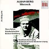 Eterna - Berg: Wozzeck / Herbert Kegel, Theo Adam, Gisela Schroter, Reiner Goldberg