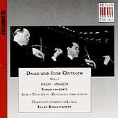 Documents - David and Igor Oistrakh Vol 1 - Bach, Vivaldi
