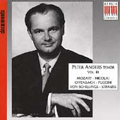 Peter Anders, Volume 3 - Arias and Orchestral Songs
