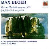 Reger: Mozart-Variationen, Bocklin-Suite / Heinz Bongartz