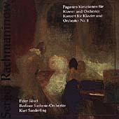Rachmaninov: Piano Concerto No.2, Rhapsody / Peter Rosel