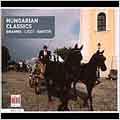 Hungarian Classics:Brahms/Liszt/Bartok
