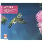 Mozart: Sinfonia Concertante, Flute Concerto / Hartmut Haenchen, C.P.E.Bach Chamber Orchestra