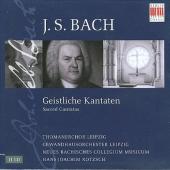 J.S.Bach: Sacred Cantatas / Hans-Joachim Rotzsch(cond), Thomanerchor Leipzig, Neues Bachisches Collegium Musicum Leipzig