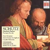 Schutz: Johannes-Passion, Psalmen / Martin Flamig, Peter Schreier