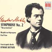 Mahler: Symphony no 2 / Suitner, Hayossyova, Priew, et al