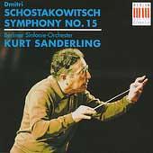 Shostakovich: Symphony no 15 / Sanderling, Berlin Symphony
