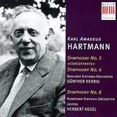 Hartmann: Symphonies No.5, 6, 8 / Gunther Herbig(cond), Herbert Kegel(cond), Berlin Symphony Orchestra, etc
