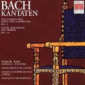 Bach: Kantaten BWV 29, 119 / Rotzsch, Werner, Riess, et al