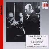 Konwitschny - Bruckner: Symphonie no 2 / Berliner Rundfunk