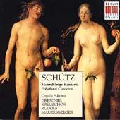 Schutz: Polychoral Concertos / Rudolf Mauersberger