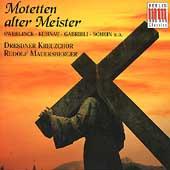 Motetten alter Meister / Mauersberger, Dresdner Kreuzchor