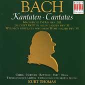 Bach: Magnificat, Cantatas / Kurt Thomas, Agnes Giebel, Marga Hoffgen