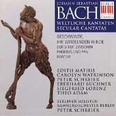 Bach: Secular Cantata BWV 201 / Schreier, Berlin Soloisten