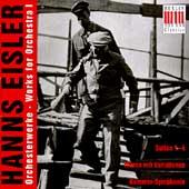 Hans Eisler: Works for Orchestra 1