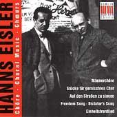 Eisler: Choral Music