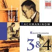 Serge Rachmaninov: Concertos pour piano No.3 et 4 / Peter Rosel, Berliner Sinfonie-Orchester