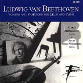 Beethoven: Sonatas and Variations for Cello / Metzmacher
