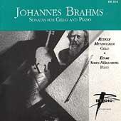 Brahms: Sonatas for Cello / Metzmacher, Steen-Noekleberg