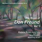 New Music from Indiana University Vol 4 - Don Freund