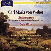 Weber: Die Blaeserkonzerte / Kloecker, Consortium Classicum