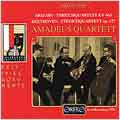 Festspieldokumente - Mozart, Beethoven / Amadeus Quartett