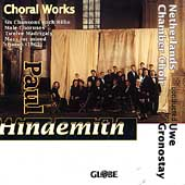 Hindemith: Choral Works / Gronostay, Netherlands Chamber