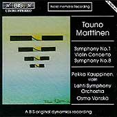 Marttinen: Symphony No. 1, Violin Concerto, etc / Vaenskae