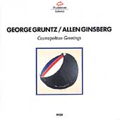 George Gruntz/Allen Ginsburg: Cosmopolitan Greetings