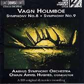 Holmboe: Symphonies no 8 & 9 / Hughes, Aarhus SO