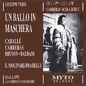 Verdi: Un Ballo In Maschera / Molinari-Pradelli, et al