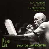Sviatoslav Richter - W. A. Mozart, L. v. Beethoven