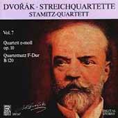 Dvorak: Streichquartette Vol 7 / Stamitz Quartett
