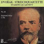 Dvorak: Streichquartette Vol 10 / Stamitz Quartett
