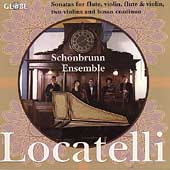 Locatelli: Sonatas for Flute, etc / Schonbrunn Ensemble