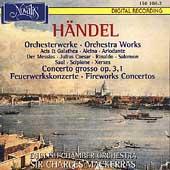 Haendel: Orchestral Works / Mackerras, English CO