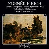 Fibich: Orchesterwerke / Albrecht, Tschechische Philharmonie