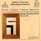 Vox Temporis - Early Italian Recorder Music / Flanders