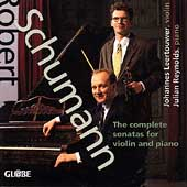 Schumann: The complete sonatas for violin / Leertouwer, etc
