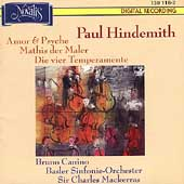 Hindemith: Amor & Psyche, Mathis der Maler, etc / Mackerras