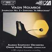 Holmboe: Symphony no 2, etc / Hughes, Aarhus Symphony