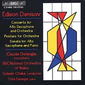 Denisov: Concerto for Alto Saxophone, etc / Claude Delangle
