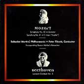 Mozart: Symphonies Nos 40 & 41;  Beethoven / Peter Tiboris
