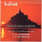 French Cello Sonatas Vol 2 - Jongen, Tournemire, Vierne