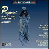 Paganini: 4 Notturni a Quartetto, 6 Duets, etc / Pignata