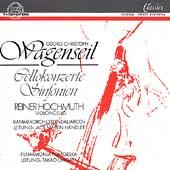 Wagenseil: Cellokonzerte, Sinfonien / Reiner Hochmuth(vc), Jack Martin Handler(cond), Pomeranian Philharmonic Orchestra, etc