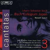 Bach: Cantatas Vol 3 / Suzuki, Bach Collegium Japan