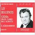 Meyerbeer: Les Huguenots / Marzendorfer, Gedda, Shane, et al