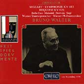 Mozart: Symphonie KV 183, Requiem KV 626 / Bruno Walter